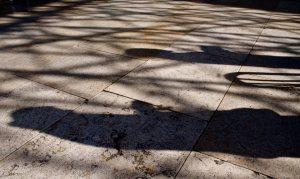 Wailing Wall shadows